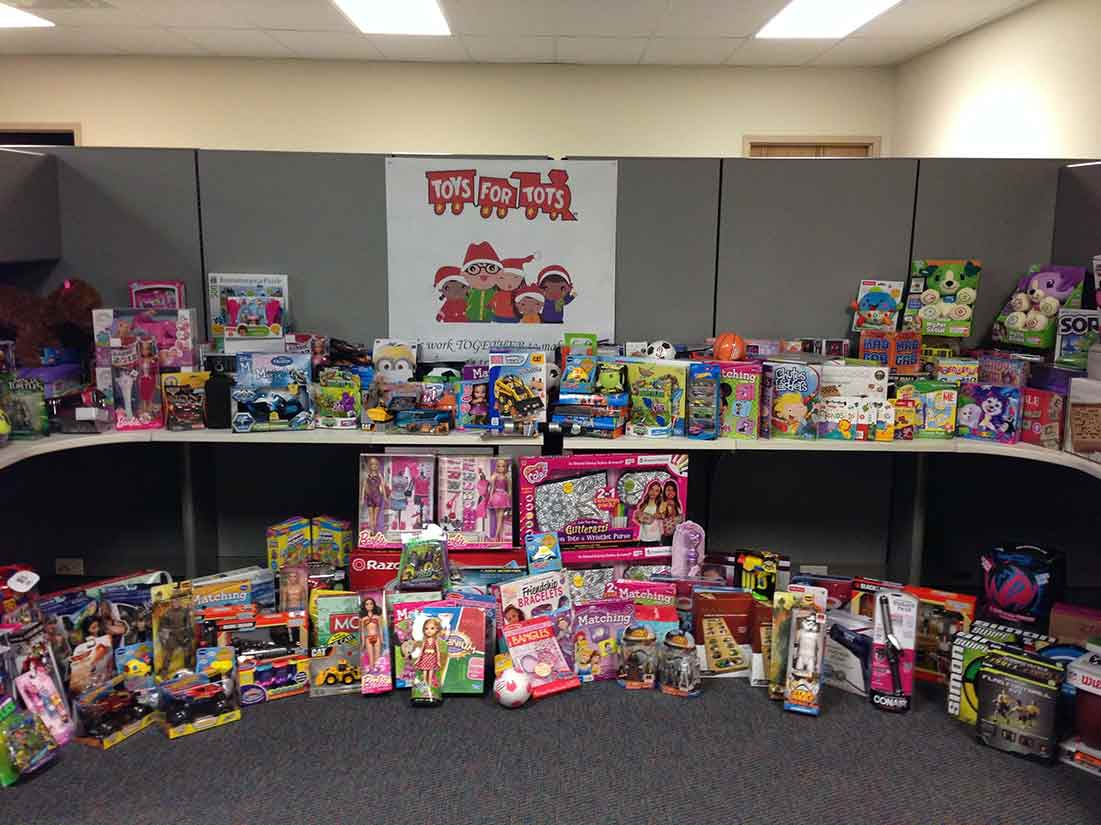social responsibility and community toys for tots