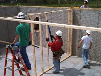 social responsibility and community - habitat for humanity