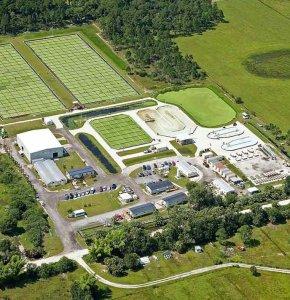 Aquatic Biomass Production Facility