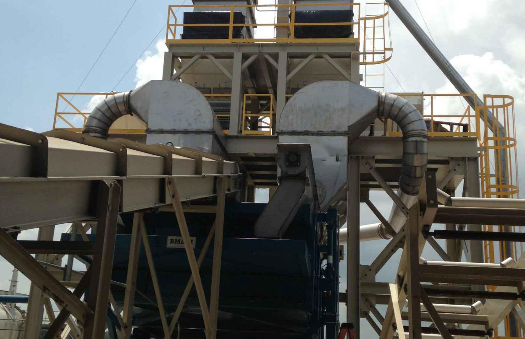 converts fiber mill wood pellet plant