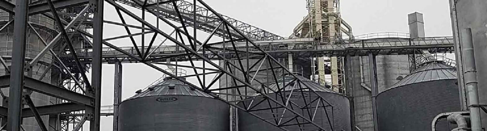 Green Plains Renewable Energy Cable Tray Structure Ethanol Structural Engineering