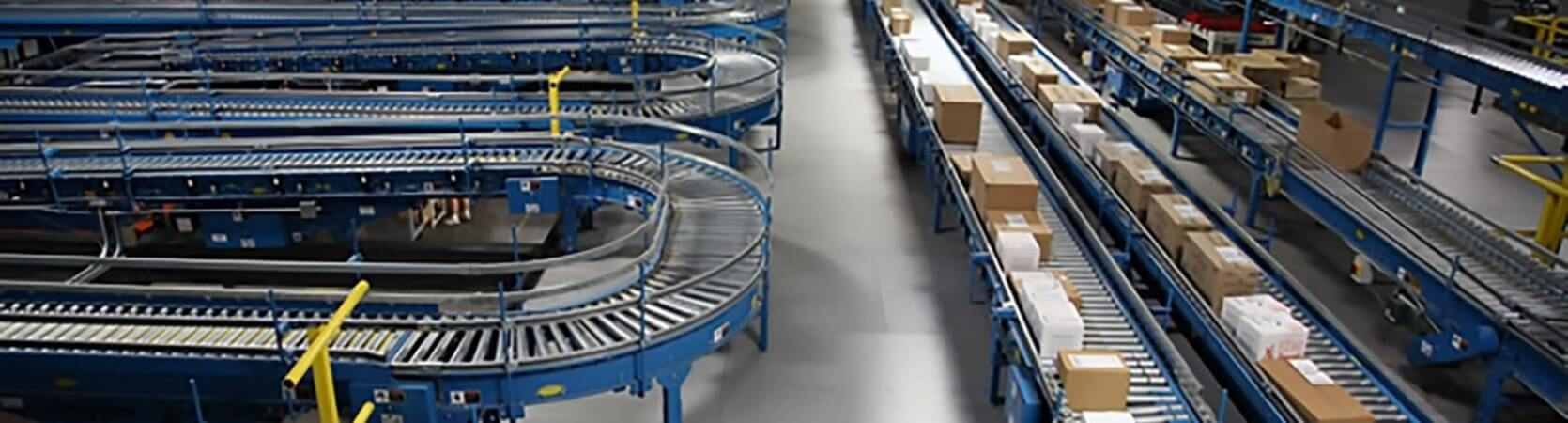 An automation parcel conveyor system design that shows that EAD is now a Rockwell Recognized Integrator