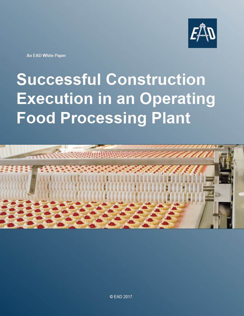 construction execution operating food processing plant