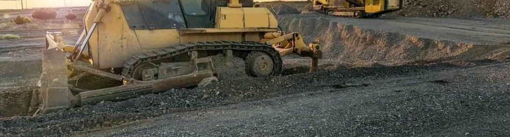 Some heavy machinery that might need some control system modernization services