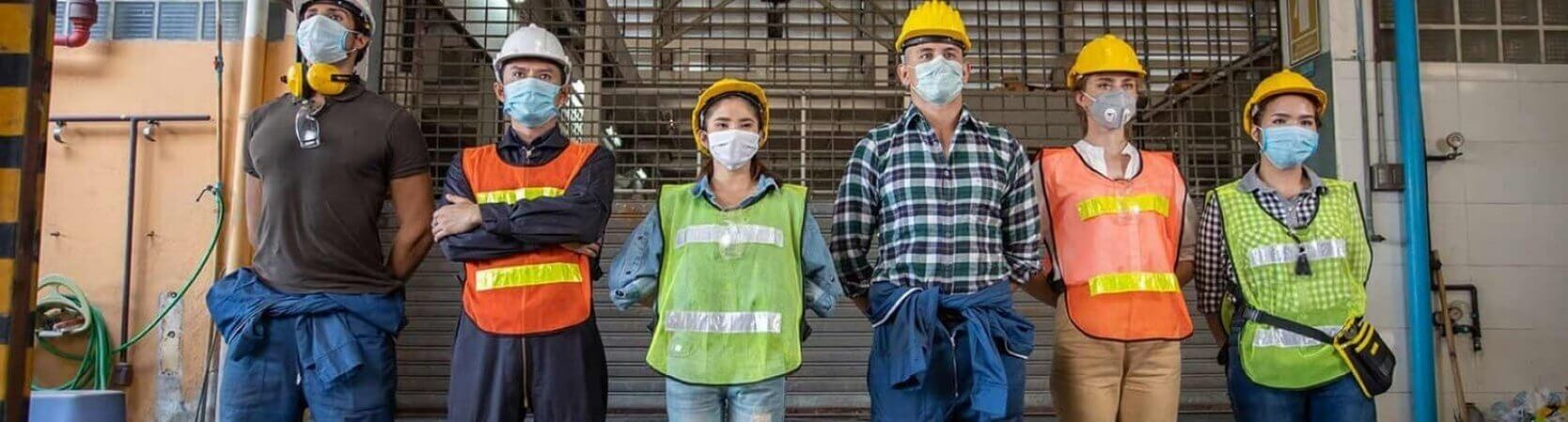 A group needing worksite training services